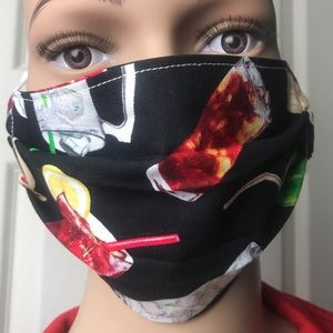 Accessories - BEVERAGE Waiter Adult Face Mask 💥FREE w/purchase*